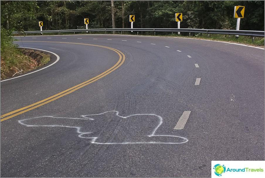 Ole varovainen tiellä, älä aja