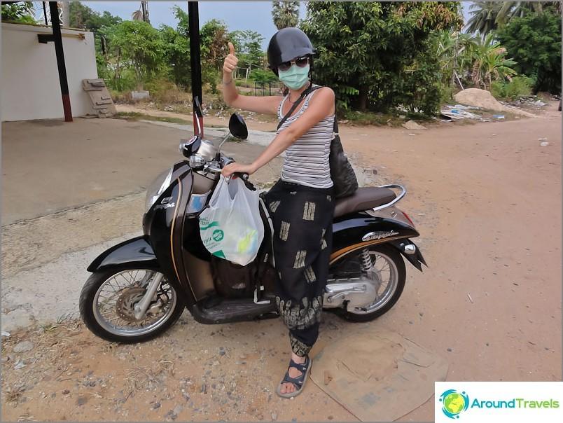 Moottoripyörien vuokraus Thaimaassa