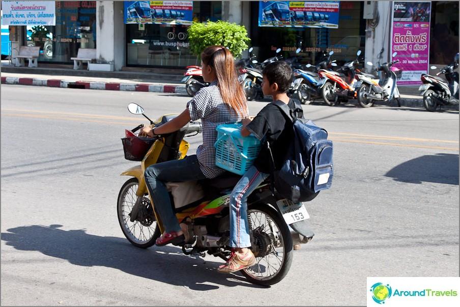 Kuinka Thais ratsastaa