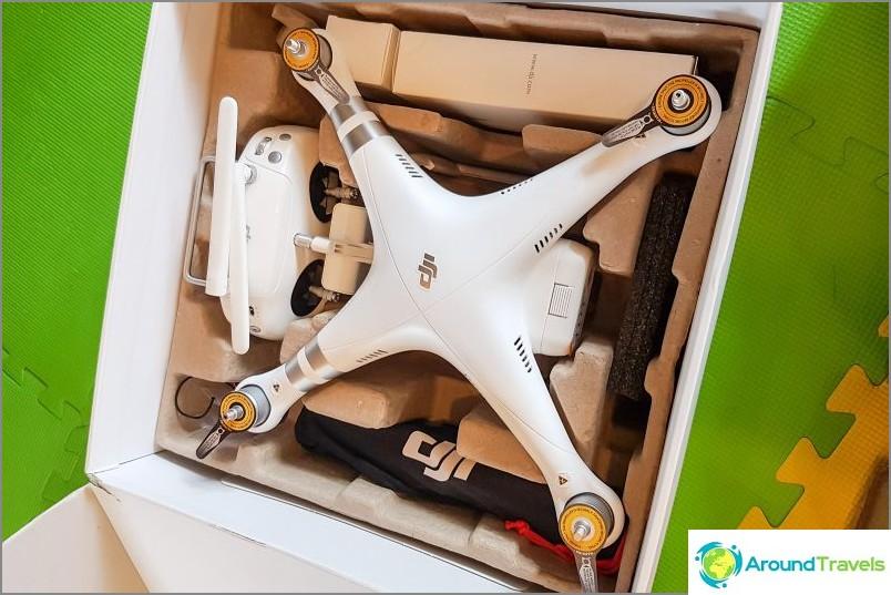 Quadcopter DJI Phantom 3 Advanced