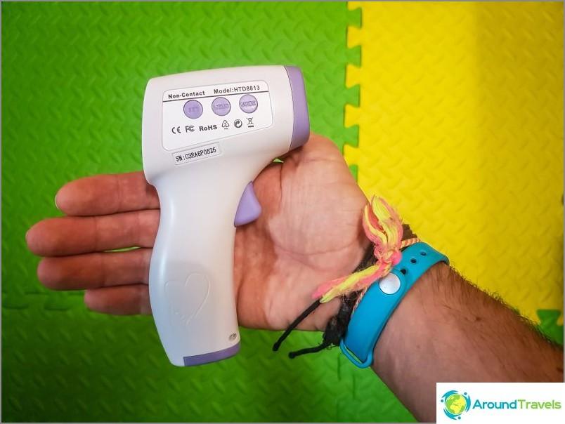 Elektroninen lämpömittari lapselle