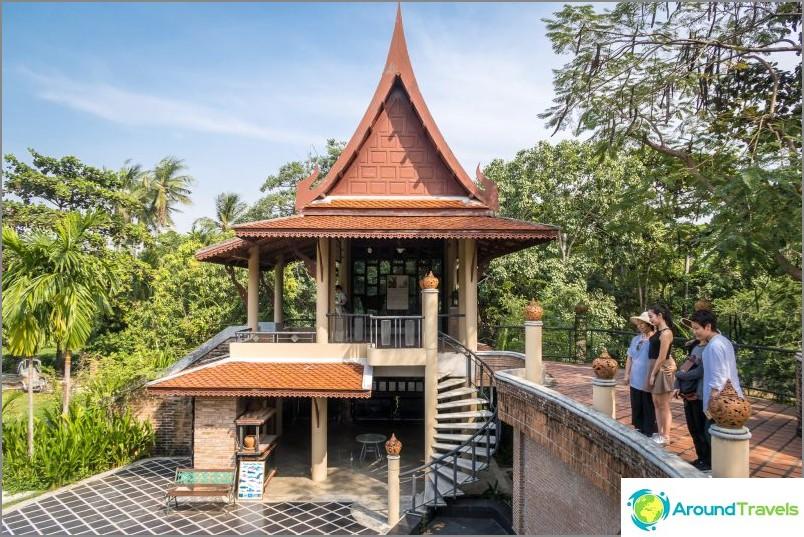 Тайландска сграда наблизо