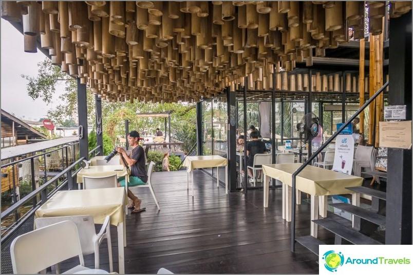 Бамбуков таван