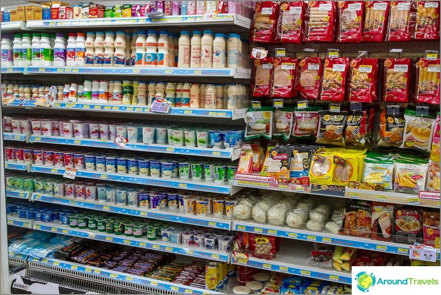 Млечни и колбасни продукти