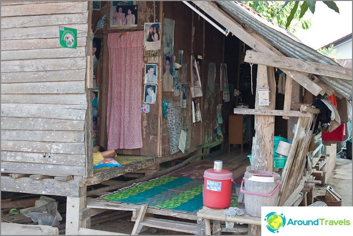 Kuinka paikalliset asuvat Chiang Saenissa