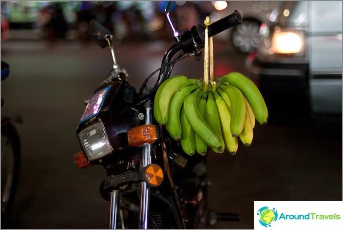 Banaanit kasvavat paitsi puissa