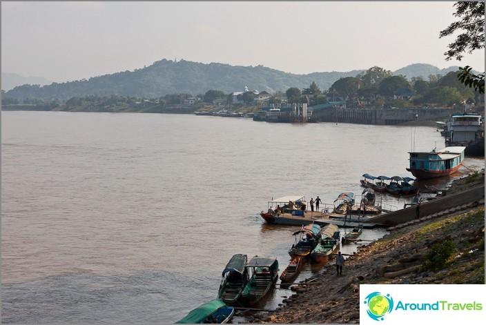 Mekong-joki Chiang Saenissa