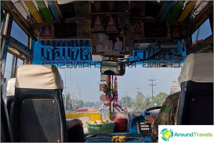 Bussi Chiang Saen - Chiang Rai