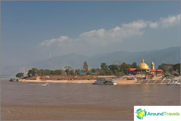 Laos Mekong-joen yli