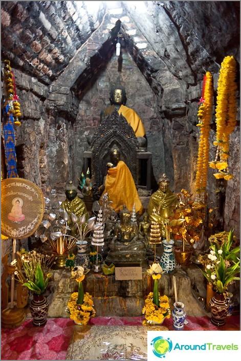 Buddhalainen temppeli - naisia ei saa tuoda tähän huoneeseen