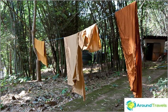 Munkit kuivat vaatteet