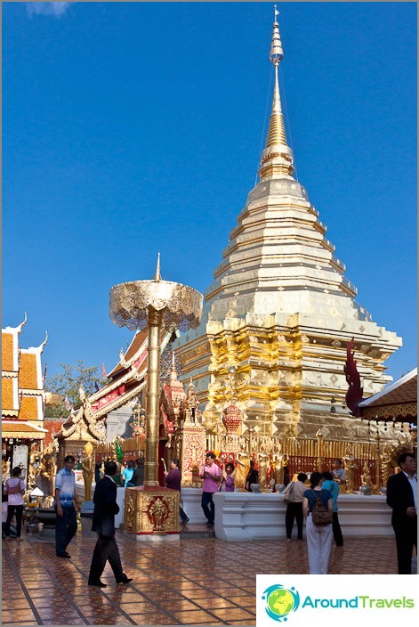 Wat Doi Suthep - снимка за 100 бата
