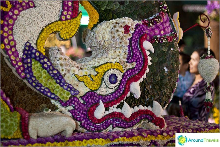 Chiang Mai Kukkafestivaali, kukkamuodot