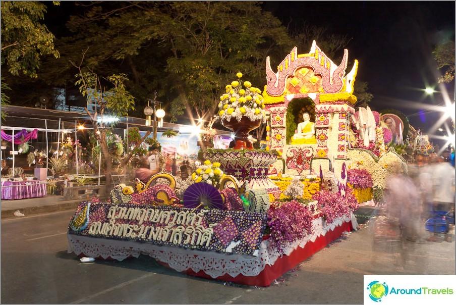 Kukkavaunu, Chiang Mai Kukkafestivaali