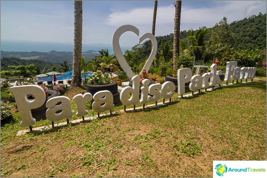 Paratiisipuisto Koh Samuilla