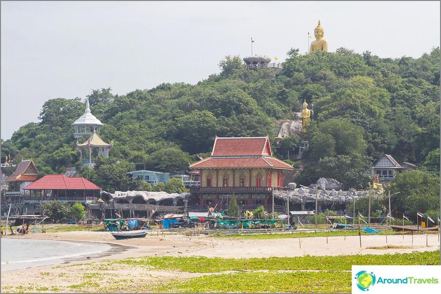 Khao Tao -vuori ja iso Buddha