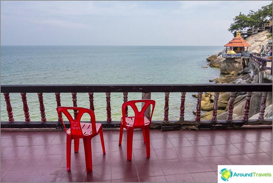 Lomapaikka näkymä Thaimaan lahdelle