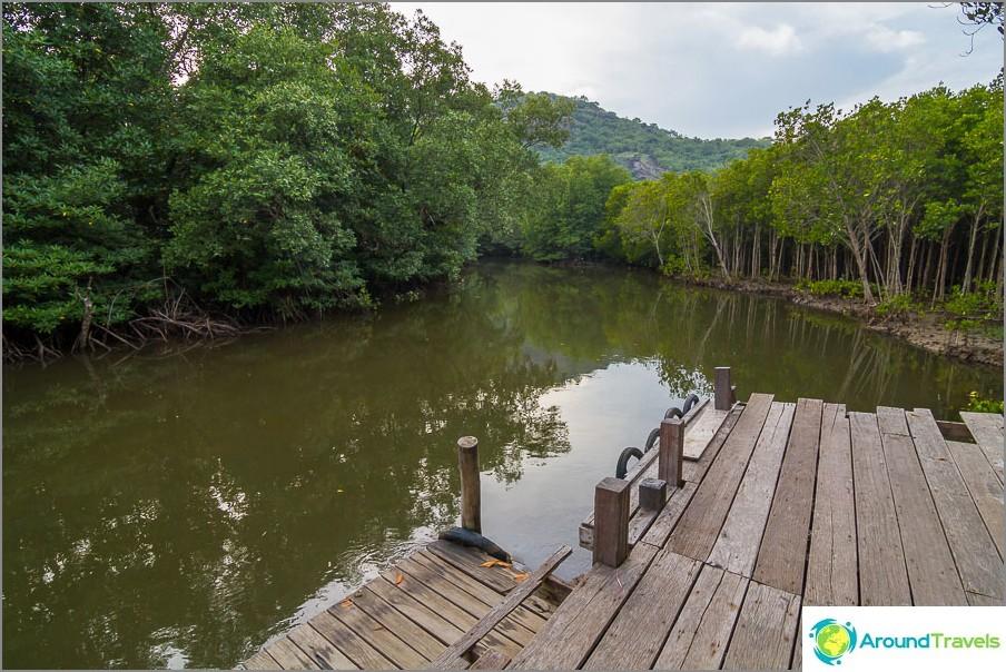 Pranaburi-joelle, retkiä suoritetaan sillä