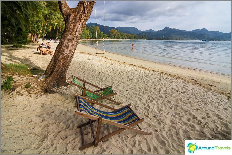 Много хубав плаж Chai Chet