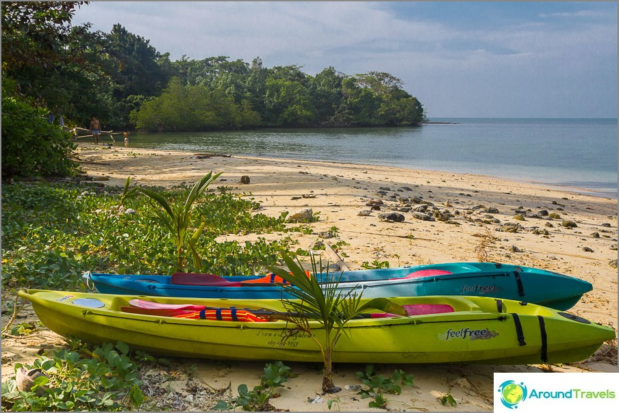 Koh Man Nai Island Beach
