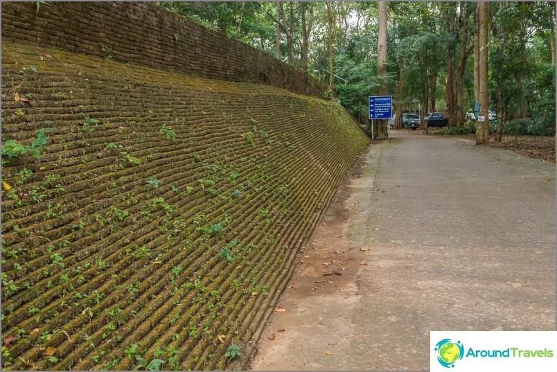 Tunnelitemppeli Wat Umong (1)