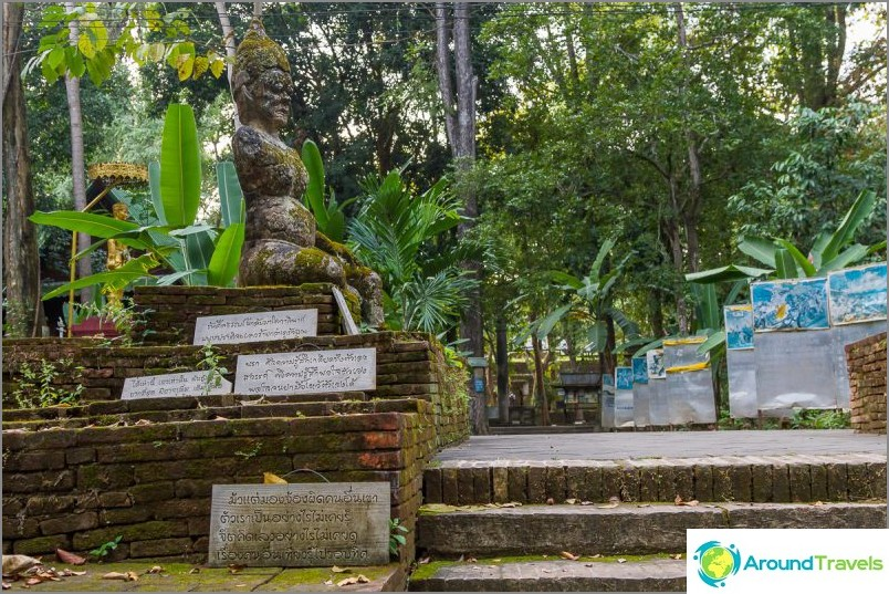 Tunnelitemppeli Wat Umong (2)