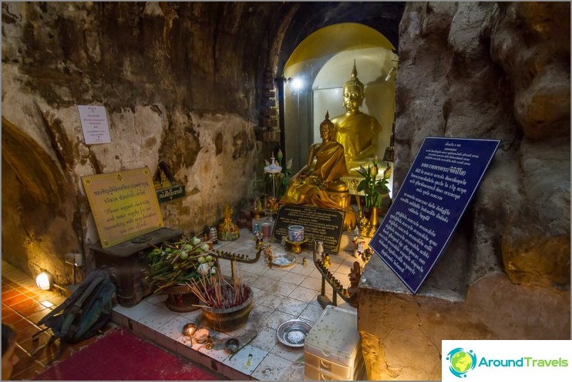 Tunnelitemppeli Wat Umong (11)