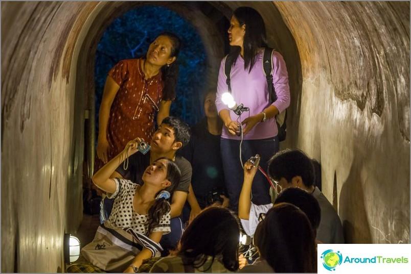 Tunnelitemppeli Wat Umong (22)