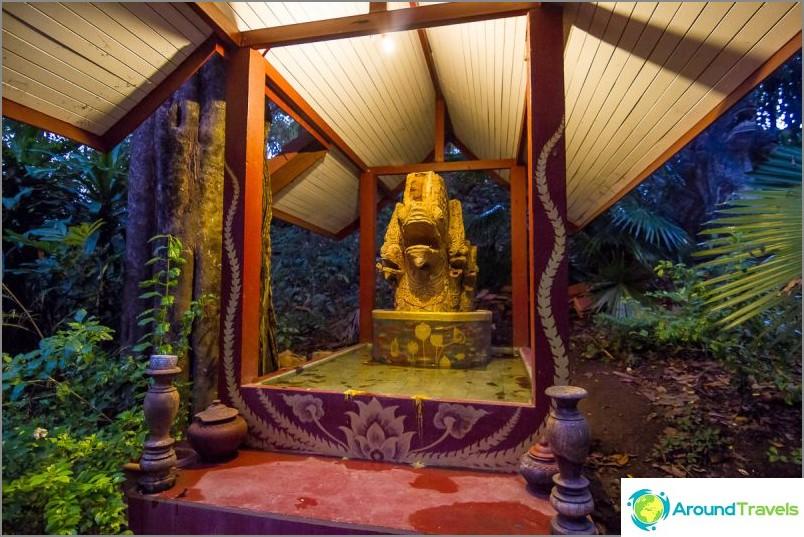 Tunnelitemppeli Wat Umong (24)