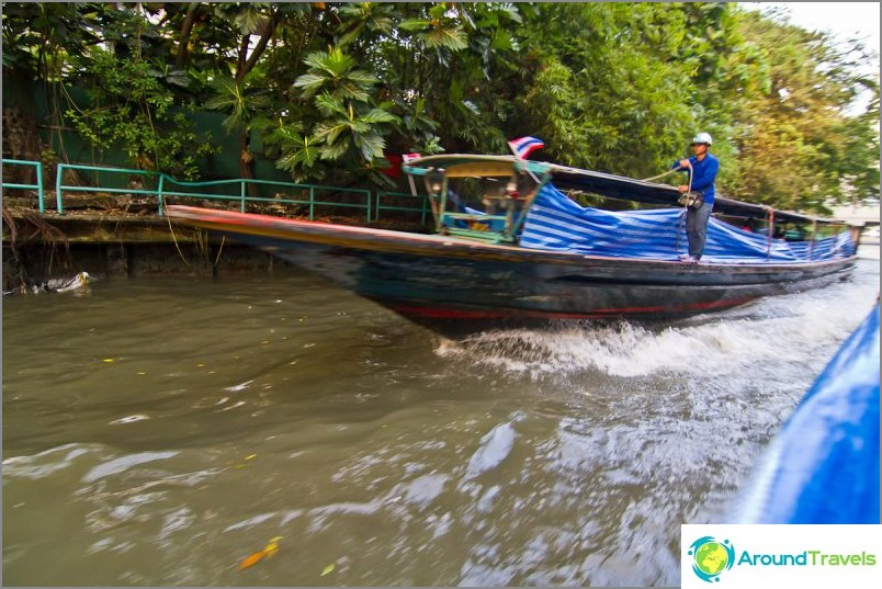 Saapuvat veneet spray