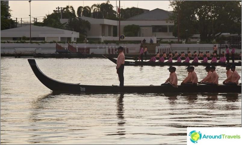 Kuninkaallinen regatta Chao Phrayassa
