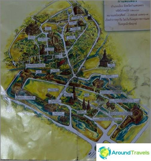 Campeng Pet Historical Park kartta (napsautettavissa)