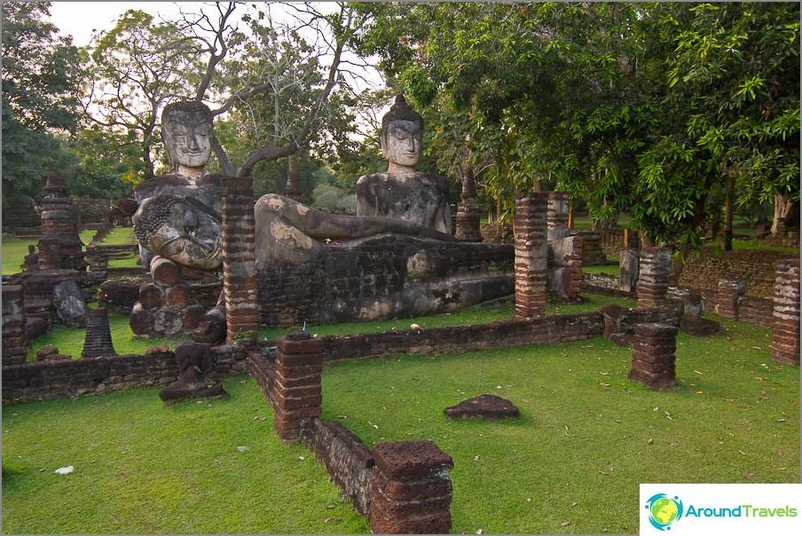 Palautetut Buddha-patsaat