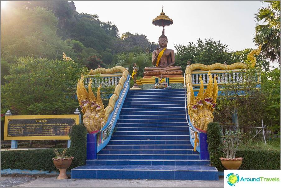 Heti tultuaan Wat Cha Am
