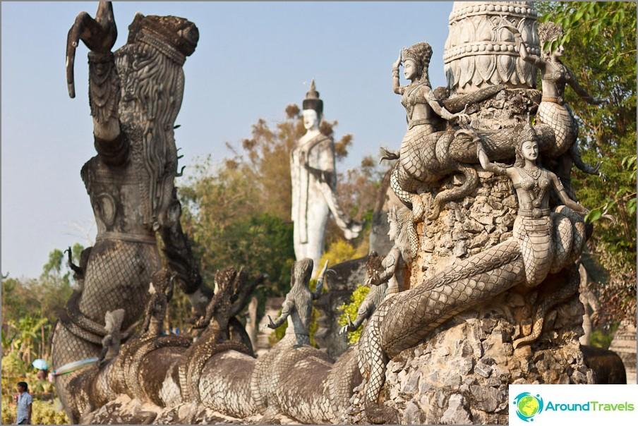 Buddha Sala Keoku -veistospuisto