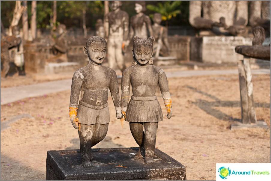 1. Kerran oli kaksi heteroseksuaalista thaimaalaista pioneeria, mutta eurooppalaisen ulkonäön