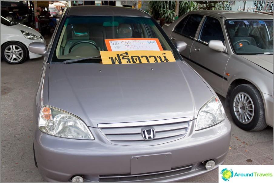 Kustannukset Honda Civic