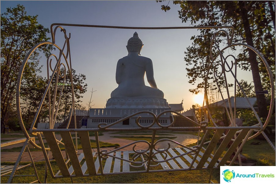 Swing näkymä Buddha