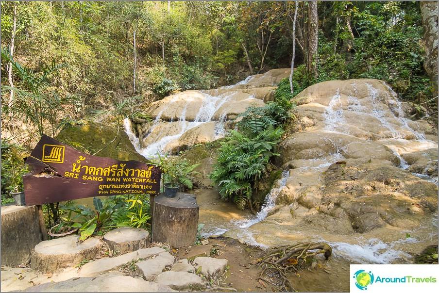 Tai arvioimalla nimikilven Sri Sang Wan -vesiputous