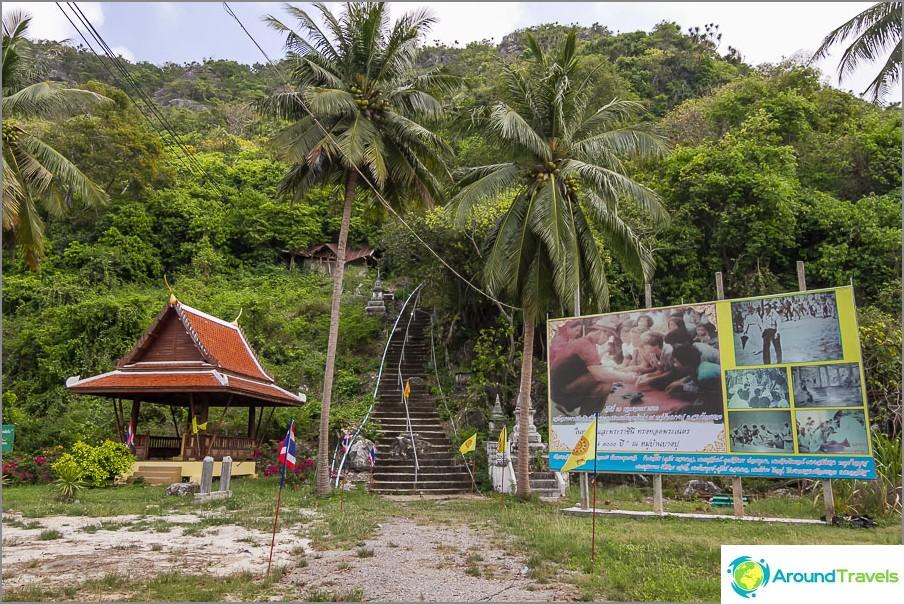 Nousu luolaan Wat Bang Pu -kadulla