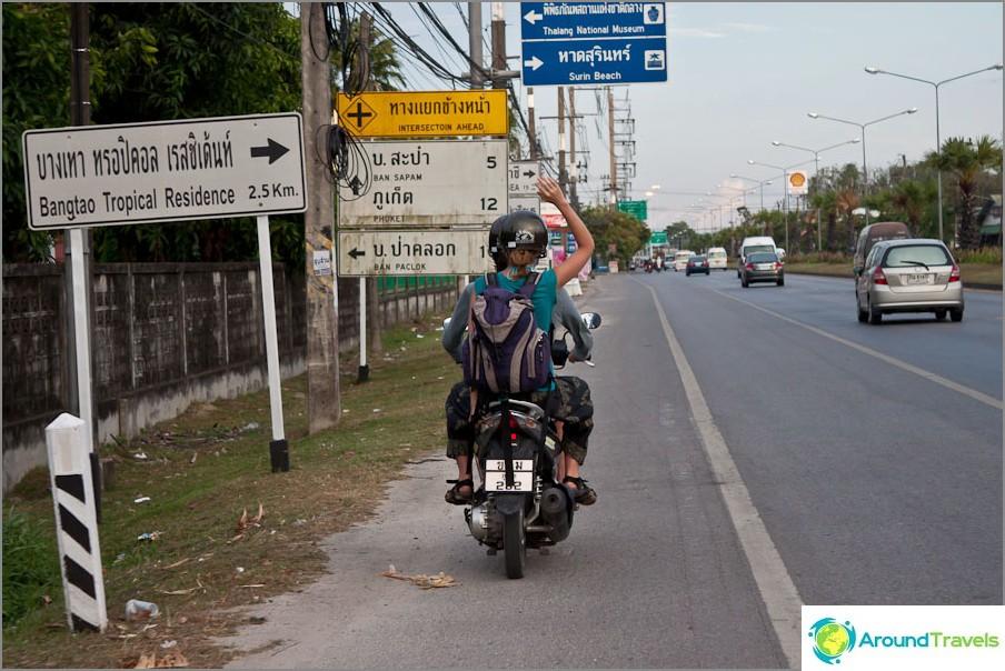 Matkalla kotiin
