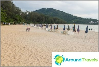 Nai Yang Beach - autio ranta lähellä Phuketin lentokenttää