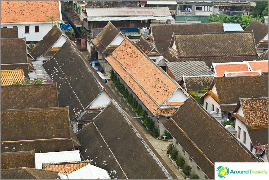 Muiden temppelirakennusten katon alla