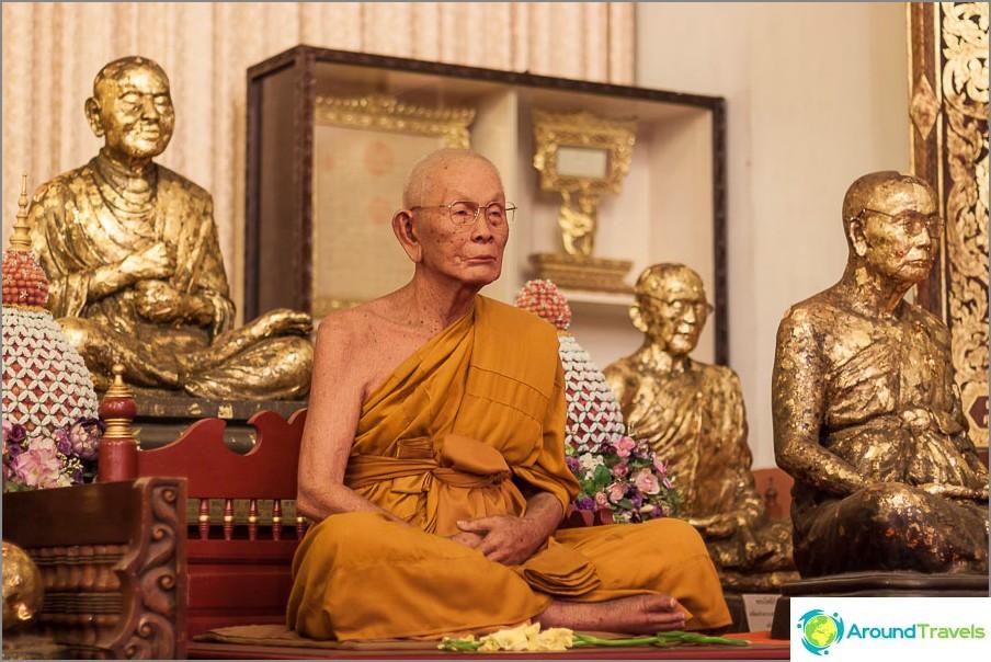 Väitetty muumioitunut munkki