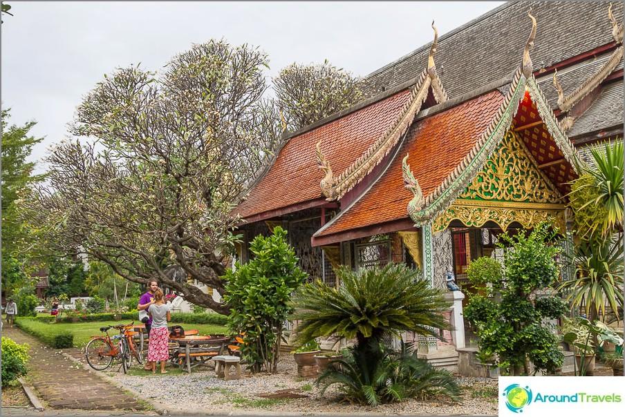 Noin Wat Chiang Man on hyvin vihreä.