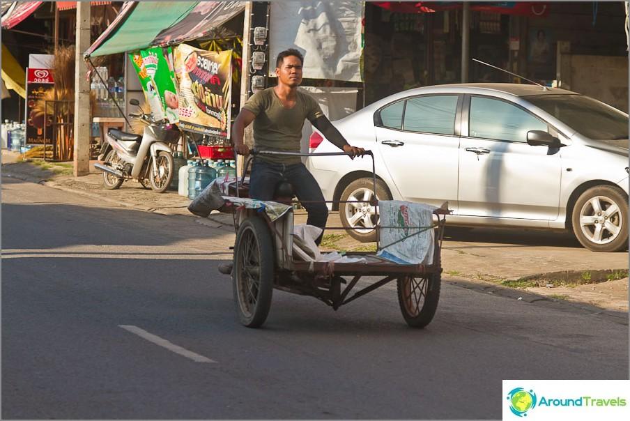 Едно от традиционните транспортни средства