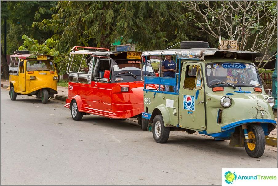 Ayutthaya tuk tuki eivät ole kuin muut