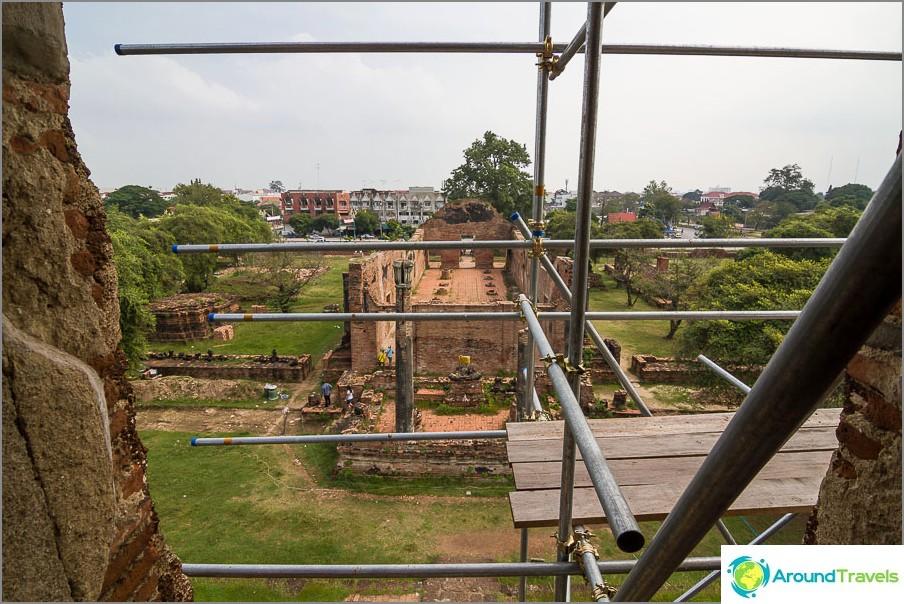Ayutthaya-näkymä