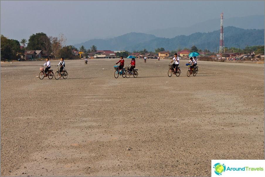 Entinen sotilaallinen lentokenttä Vang Vieng