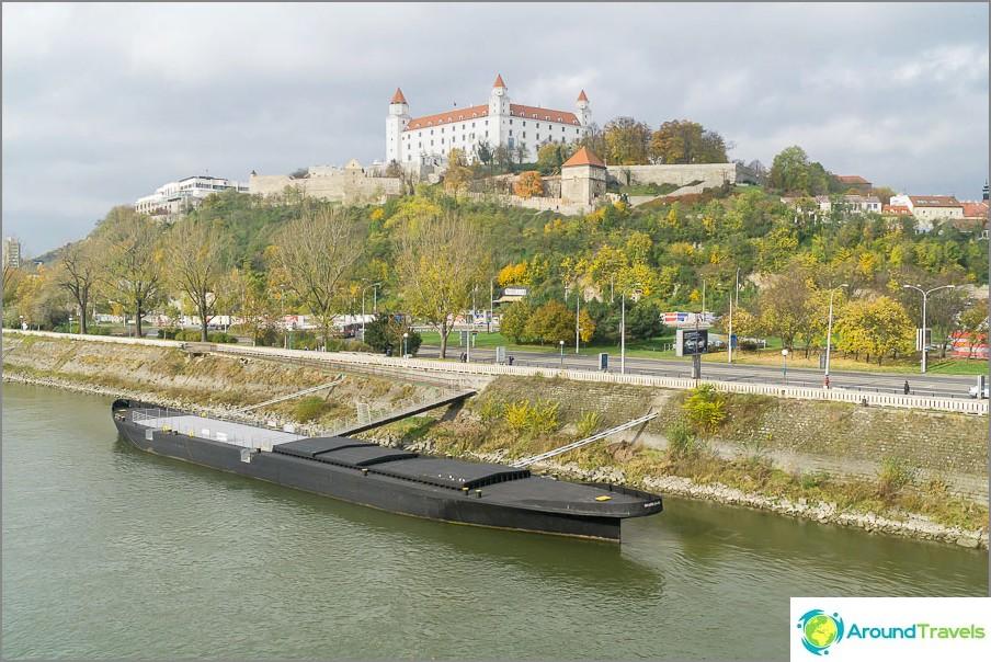 Известният замък на Братислава